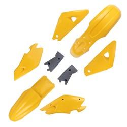 Kit Plástico Completo Husqvarna 2T - 00 a 03 Ufo Amarelo