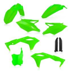 Kit Plastico Completo Kxf 250 17/20 Acerbis Verde Fluor