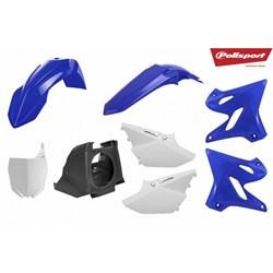 Kit Plastico Completo Yz 250 - 02 A 18 Polisport Restyling Azul