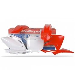 Kit Plástico Crf 150r Polisport Vermelho Branco