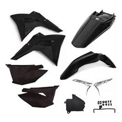 Kit Plastico Crf 230 Amx Premium 19 Preto