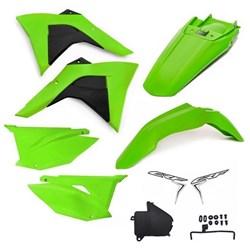 Kit Plastico Crf 230 Amx Premium 19 Verde