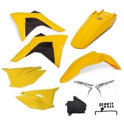 Kit Plastico CRF 230 Amx PREMIUM 2019 Amarelo