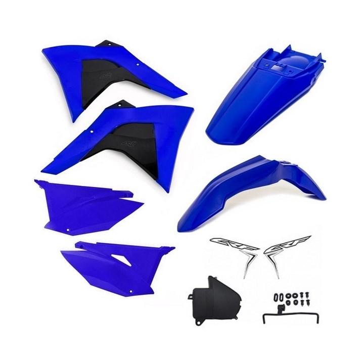 Kit Plastico CRF 230 Amx PREMIUM 2019 Azul