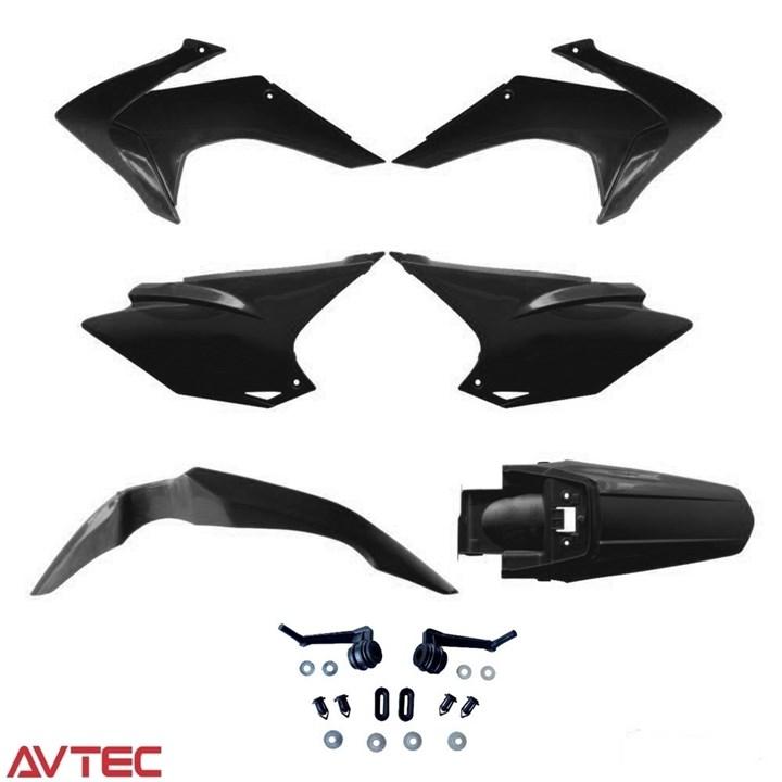 Kit Plástico CRF 230 AvTec Preto