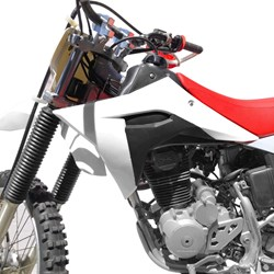 Kit Plástico CRF 230 AvTec PRO Branco