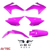 Kit Plástico CRF 230 AvTec Rosa