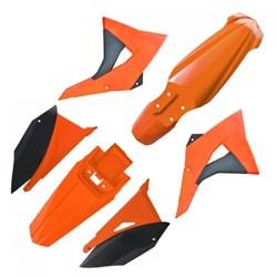 Kit Plastico CRF 230 BIKER Elite Laranja Preto