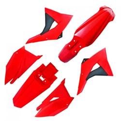 Kit Plastico CRF 230 BIKER Elite Vermelho
