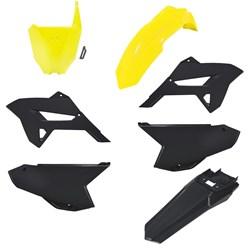 Kit Plastico Crf 230 Biker Ride Amarelo Fluor Preto