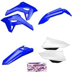 Kit Plastico Crf 250f 21 Amx Azul Branco Azul
