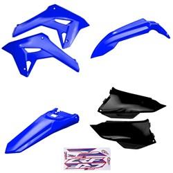 Kit Plastico Crf 250f 21 Amx Azul Preto Azul