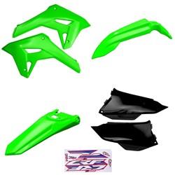 Kit Plastico Crf 250f 21 Amx Verde Preto Verde