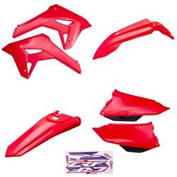 Kit Plastico Crf 250f 21 Amx Vermelho
