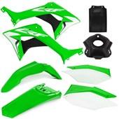 Kit Plástico CRF 250F AMX Verde Branco