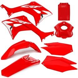 Kit Plástico CRF 250F AMX Vermelho