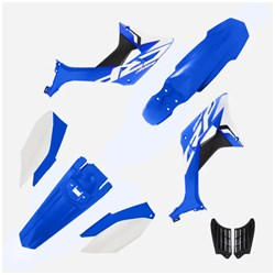 Kit Plastico Crf 250f Biker Evo Azul Branco