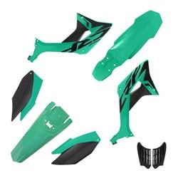 Kit Plastico CRF 250F BIKER Evo Verde Pine Green
