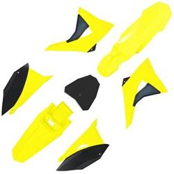 Kit Plastico CRF230 BIKER Next Amarelo Neon Preto
