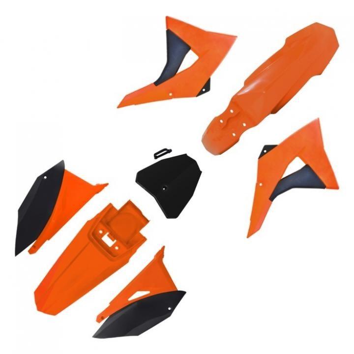 Kit Plastico CRF230 BIKER Next Laranja Preto