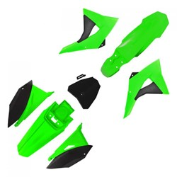 Kit Plastico CRF230 BIKER Next Verde Preto