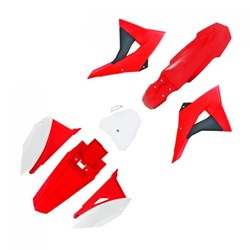 Kit Plastico CRF230 BIKER Next Vermelho Branco