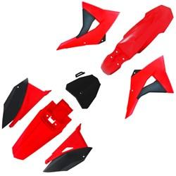 Kit Plastico CRF230 BIKER Next Vermelho Preto