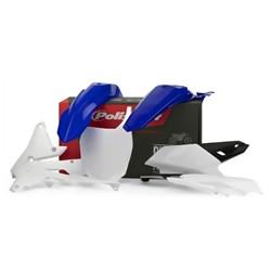 Kit Plástico Yzf 250 14/18 - Yzf 450 14/17 Polisport Azul