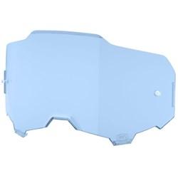 Lente Óculos 100% Amerga Espelhado Azul