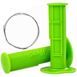 Manopla Amx Pro Verde Fluor
