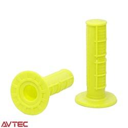 Manopla Avtec Pro Amarelo Fluor