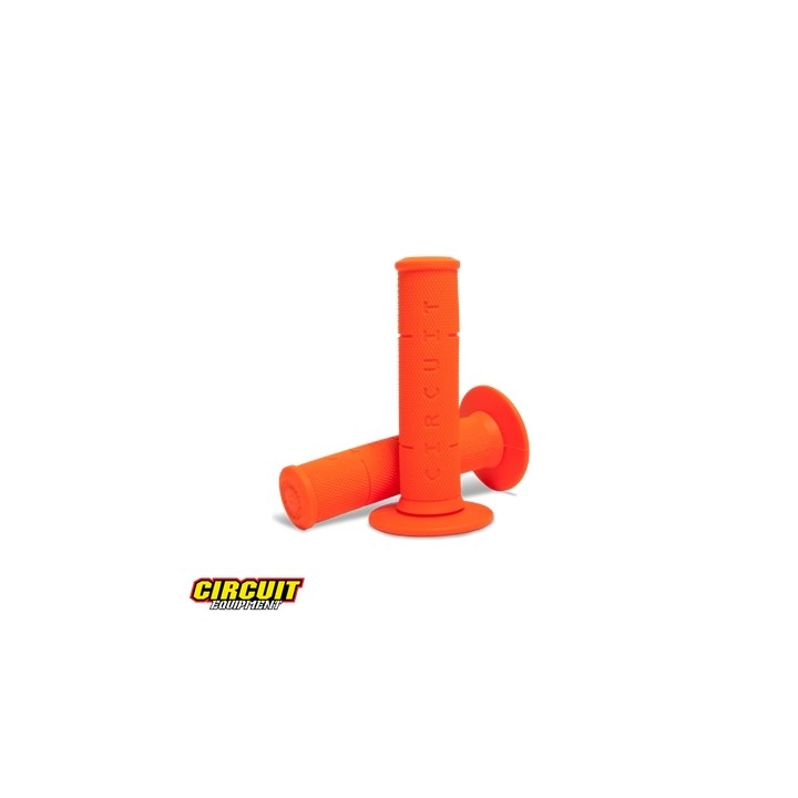 Manopla Circuit Rubber IV Laranja Fluor