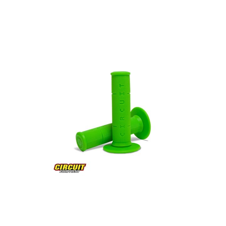 Manopla Circuit Rubber IV Verde Fluor