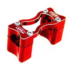 Mesa Para Guidão Bar Clamps Crf 250f / 230 28 Mm Medio Nfs Vermelho