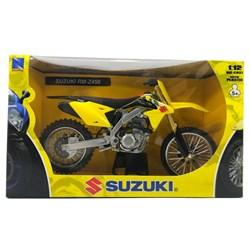 Miniatura Replica Newray Suzuki Rmz 450 - Escala 1:12
