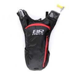 Mochila Bolsa De Hidratação Combat 2 Litros Br Parts Vermelho