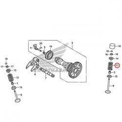 Mola de Valvula de Admissão Crf 250r 16/17 Honda