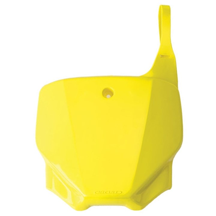 Number Plate Frontal Crf 230 Circuit Amarelo