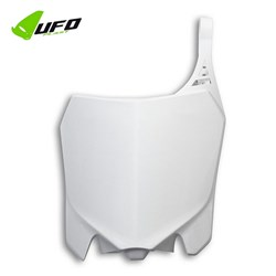 Number Plate Frontal Crf 250r 14 a 17 Ufo Branco
