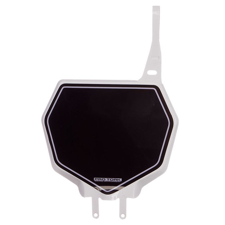 Number Plate Frontal Protork 788 Branco