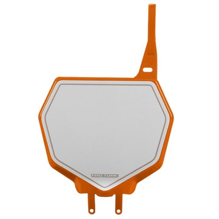 Number Plate Frontal Protork 788 Laranja