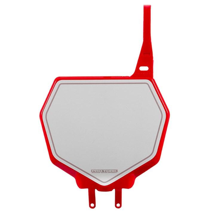Number Plate Frontal Protork 788 Vermelho