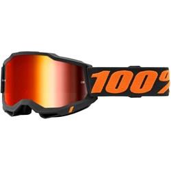 Óculos 100% Accuri 2 Chicago Preto Laranja