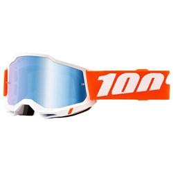 Óculos 100% Accuri 2 Sevastopol Branco Laranja