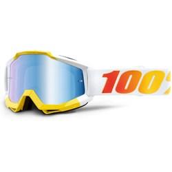 Oculos 100% Accuri Astra Amarelo Branco