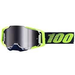 Oculos 100% Armega Espelhado Deker Preto Verde