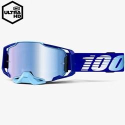 Óculos 100% ARMEGA ROYAL Espelhado Azul