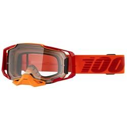Óculos 100% Armega Transp Litkit Laranja