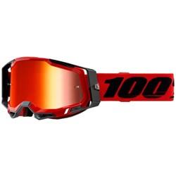 Oculos 100% Racecraft 2 Vermelho