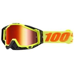 Oculos 100% Racecraft Attack Amarelo Preto